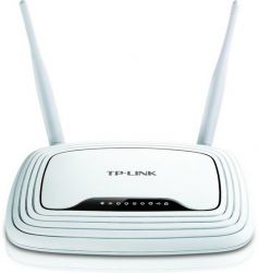 TL-WR842ND, TP-Link TL-WR842ND 300Mbps Multi-function Wireless N Router, Atheros, 2T2R, 2.4GHz, 802.11n/g/b, Built-in 4-port Switch, 1 usb port for FTP/Media/Print Server, with 2 detachable antennas,  Support Rus