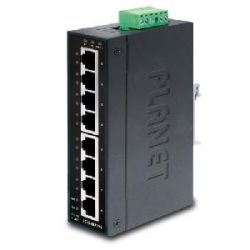 IGS-801M,IP30 Slim type 8-Port Industrial Manageable Gigabit Ethernet Switch (-10 to 60 degree C)