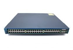 WS-C3550-48-SMI=, Коммутатор Cisco WS-C3550-48-SMI 48-10/100 and 2 GBIC ports: Std Multilayer SW Image